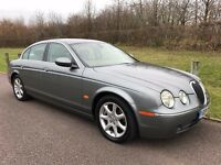 04 JAGUAR S TYPE 2.7D v6 SE AUTO FSH INC RECENT CAMBELTS, SAT NAV, FULL LEATHER, VERY CLEAN EXAMPLE