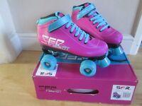 Girls Roller Quad Skates in size uk4J eu 37, excellent condition, like new