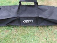 -- AUDI Q5 JEEP ROOF BARS + STORAGE BAG --