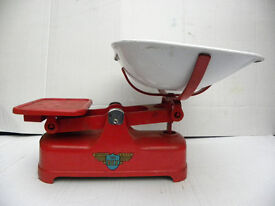 Cast Iron Weylux The Rex Kitchen Weighing Scales With Weights