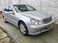 AUTOMATIC MERCEDES-BENZ C CLASS C180K CLASSIC SE 4DR Saloon MOT20/03/19FULL HISTORY PH 07459871313