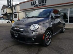 2016 Fiat 500 SPORT-ACCIDENT FREE-FACTORY WARRANTY