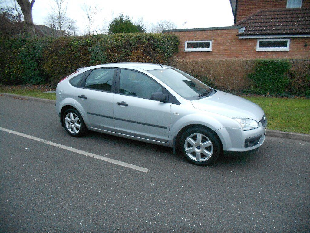 2005 05 ford focus 1.6 t sport 5 door aircon silver hpi clear priced to sell