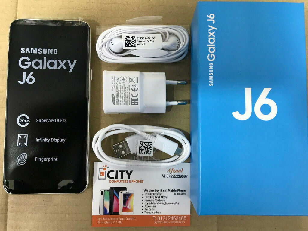 BRAND NEW SAMSUNG GALAXY J6 SM-J600 32GB 2018 4G LTE DUALSIM UNLOCKED+  WARRANTY | in Sparkhill, West Midlands | Gumtree