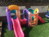 Little tikes 8 in 1 play equipment