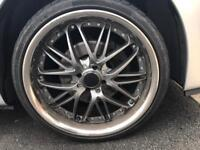 """6 18"""" wheels all good tyres"""