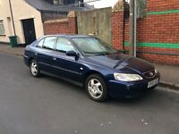 Automatic 2002 Honda Accord in good condition ,drives well ,px options available