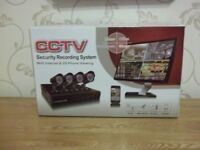cctv security recording system with internet & 3g phone veiwing