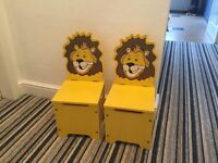 Childrens seat combined storage (Pair)