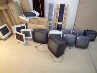 FREE!! CRT monitors and TV set COLLECTION ONLY