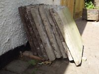 Free path flagstones and pavers
