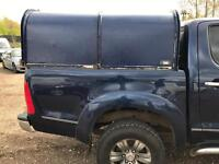 Ifor Williams double cab canopy Hilux L200 Navara pig tin