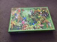 1,000 piece Falcon Animal jigsaw puzzle