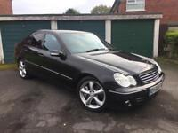 2006 56 MERCEDES C200 CDI 2.1 DIESEL AVANTGARDE AUTOMATIC 12 MONTHS MOT FULL LEATHER INTERIOR