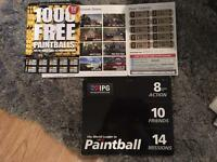 IPG PAINTBALL 20 TICKETS FOR 1 WHOLE DAY SESSION