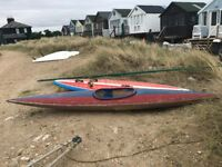 Vintage New Wave Windsurf for sale - includes mast / sail / wishbone