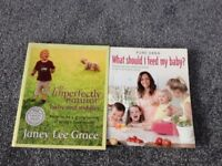 Baby/toddler Books - pure ebba what should I feed by baby & Imperfectly Natural £3 each/both for £5