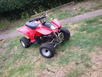 Kids quad bike auto Rev and go speed restrictable mint