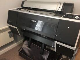Epson Stylus Pro 7700, A1 printer, pigment ink, giclée printer
