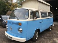 VW T2 Bay campervan