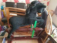 Large rare rocking horse