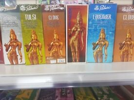 Mix Incense job lot, Padmini, Spiritual sky,Hem, Spiritual Ganesh, Meera Cones and many more