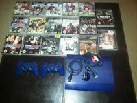 Playstation3 Slimline In Blue