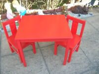 KRITAR TABLE AND CHAIRS