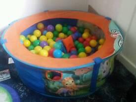 Octonauts ball pool