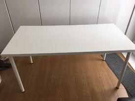 IKEA WHITE DESK/TABLE IN GREAT CONDITION