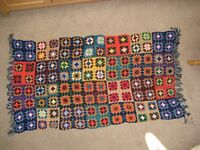 VINTAGE CROCHET Shawl, 1960's 1970's, hand made by my Gran, in good condition.