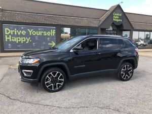 2017 Jeep Compass Limited / NAVIGATION / SUNROOF / LEATHER