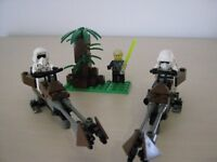 Lego - Star Wars Speeder Bikes, figures and Set