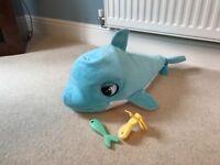 Blu Blu Baby dolphin Toy