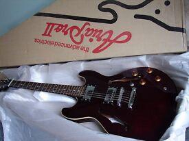 80s Aria Pro II TA Titan Artist Semi-Acoustic Electric Guitar 335 Style