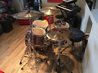 Mapex, Horizon series 5 piece drum kit. lots of extras