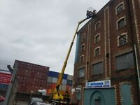cherry picker hire property maintence gutter clean painting works pressure washing