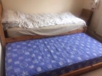 2 x single mattresses for sale