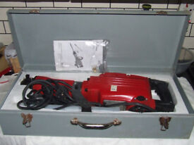 Concrete Breaker Fairline New/Unused FCH 15001 1500w never been out ofcase