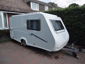 TRIGANO SILVER 310, TDE. 2008 Tourer, Pop-top roof, 2 Berth, Kitchen, Shower Room /Toilet, Awning