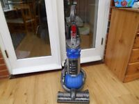 Dyson DC24 Exclusive Blue Ball Upright Hoover Vacuum Cleaner- Serviced & Cleaned