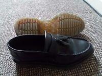 Dr Martens loafers black size 8
