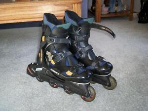 Men's Bauer roller blades