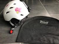 Girl's ski helmet