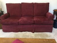 Multi York Sofa and Chair+ 1Parker Knoll recliner