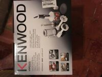 Brand new kenwood triblade mixer for sale. Never used and still in original box!
