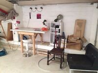 Lovely artist studio space available in Hackney Wick warehouse