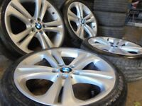 19inch genuine bmw m sport Alloys Wheels 3 e46 e90 5 Series Vw T5 transporter Vauxhall Vivaro