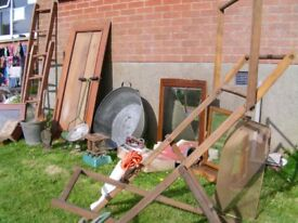 REDUCED Vintage house clearance items for sale as a lot