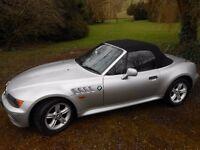 BMW Z3 Convertible 1.9 Manual (Petrol) 1999 (V Reg) Mileage: 65,875 (MOT Expires 17/03/2017))